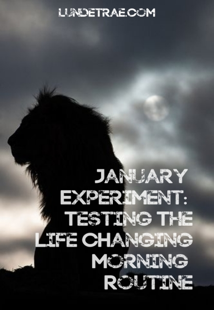januaryexperiment